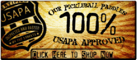 USAPA Approved Pickleball Paddles